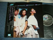POINTER SISTERS Japan 1983 NM LP+Obi BREAK OUT