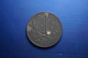 1 Koruna Cechy A Morava 1942 Böhmen Und Mähren 1 Krone Nachfrage üBer Dem Angebot