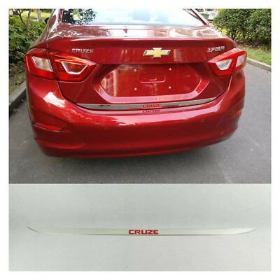 Yp Rear Boot Trunk Lid Molding Decor Trim For Chevy Chevrolet Cruze 2017-2018