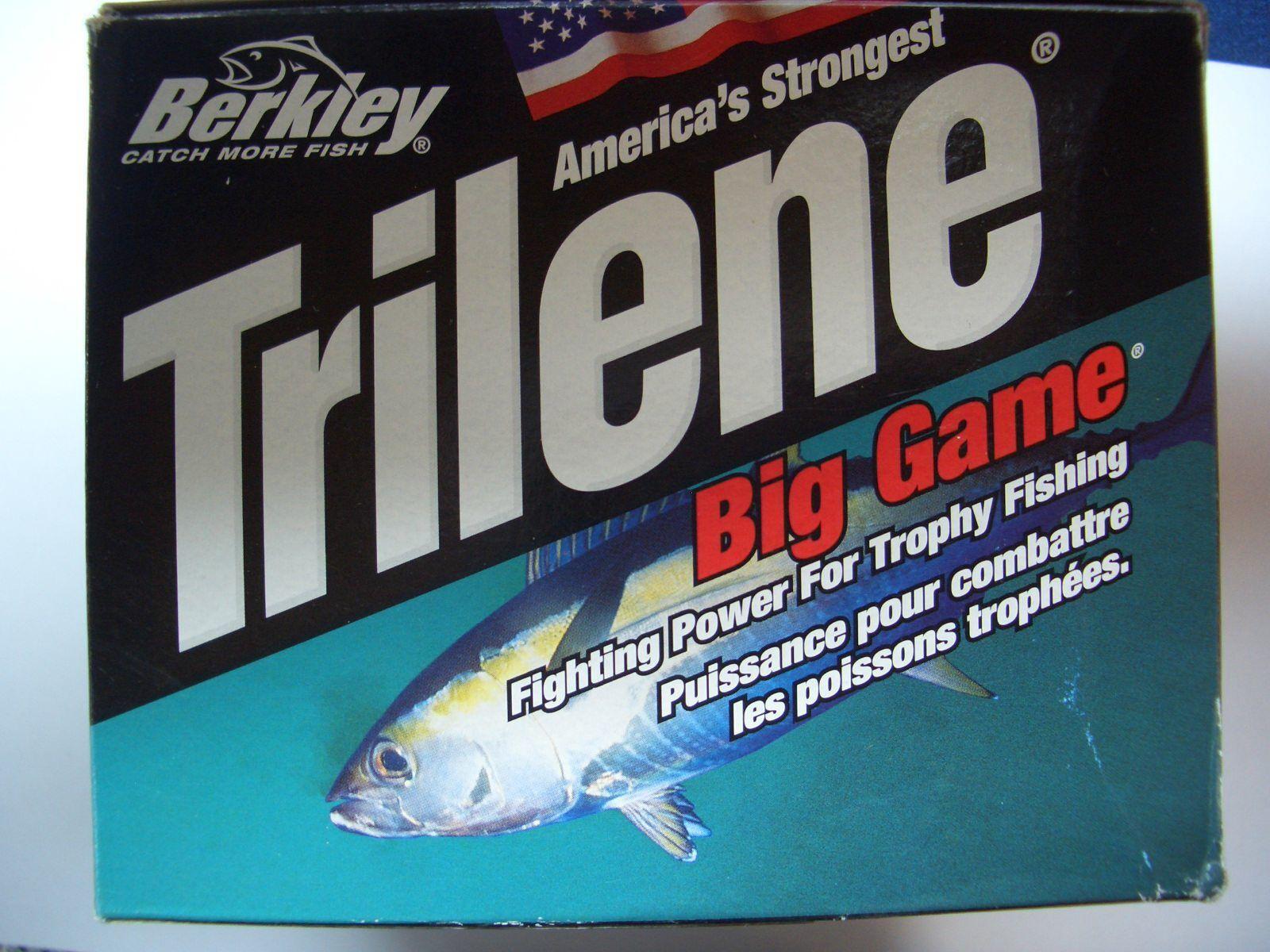 Berkley Trilene Ultra Clear, 0,31 mm 5485 m 6,2 kg, neu, Großspule