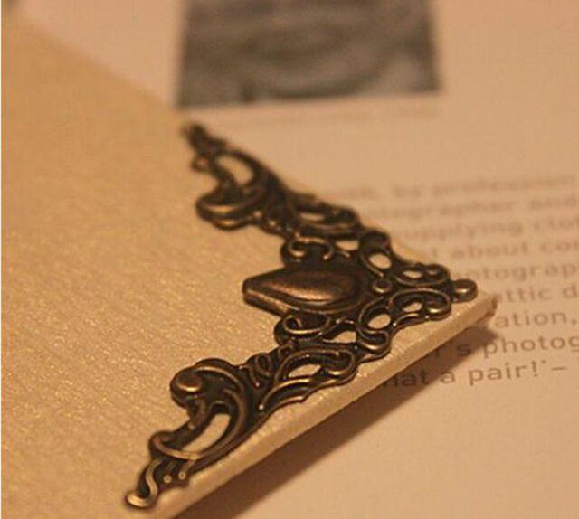 4 x Decorative Corner Embellishments Book, Jewellery Boxes, Frames, Menus, Diary
