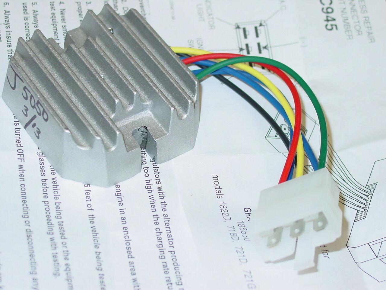 Regulator Rectifier Kubota Grasshopper Rs5101 Rs5155 J5050 | eBay