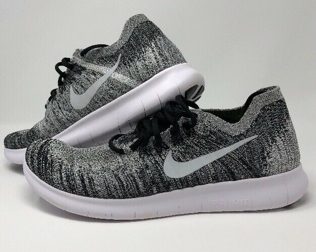 timeless design e2414 5ef46 Nike libera rn rn rn flyknit scarpe da uomo taglia 10,5 bianco nero volt