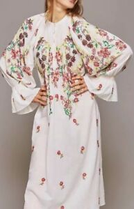 Image is loading Antik-Batik-Sequin-Embroidered-William-Dress-Size-Small 20fe934820