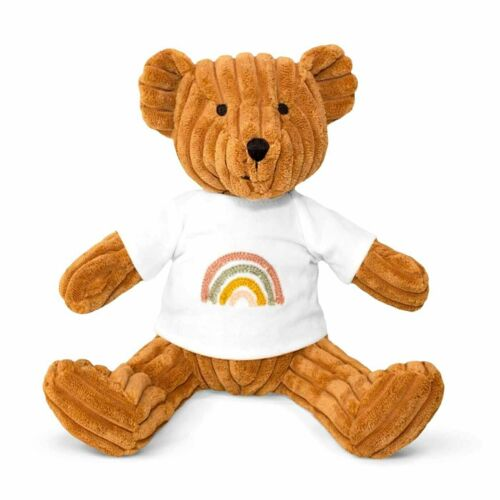 Rainbow Bear Nutmeg Lily /& George Stuffed Animal Plush Toy 20cm *FREE DELIVERY