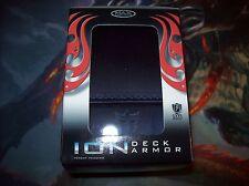 MTG pro Ion Deck box metallic blue for magic the gathering,yugioh,pokemon sealed