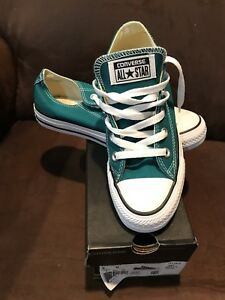 afc474ca81a0 CONVERSE UNISEX SNEAKERS REBEL TEAL (mens Sz 4  Womens Sz 6) LOW ...