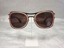 Original MONCLER Sonnenbrille MC 509 Farbe 07 braun apricot