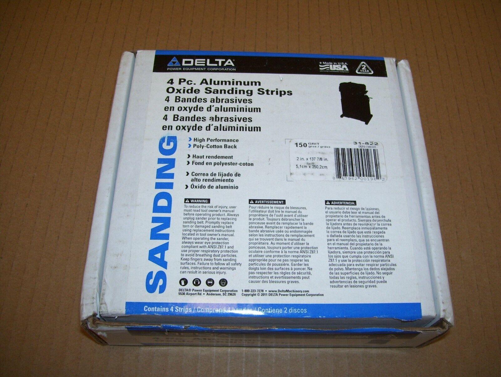 Delta 36 Grit Aluminum Oxide Resin Bond Cloth 36 Grit Sanding Roll # 31-822
