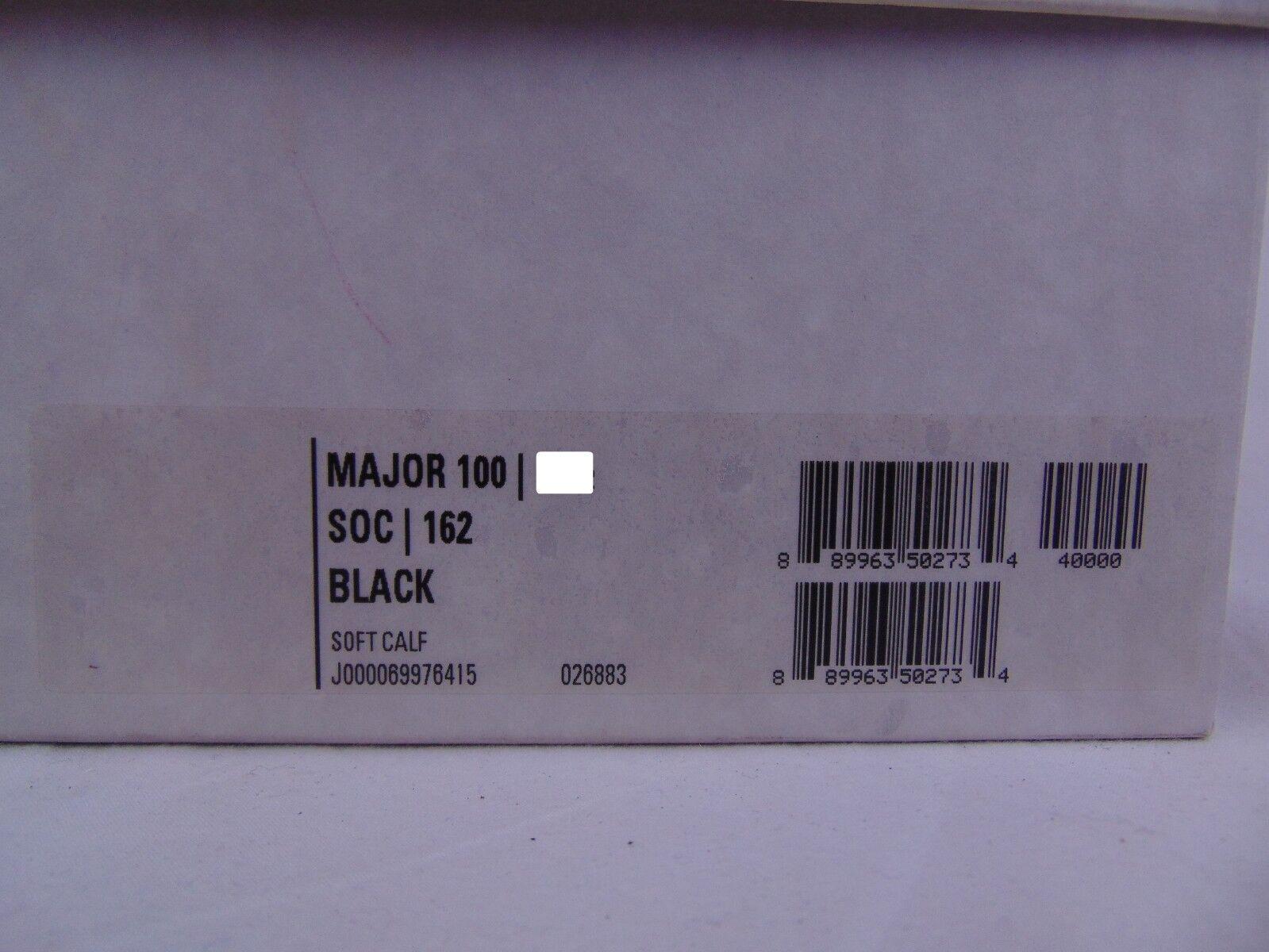 New in Box Jimmy Choo Major 100 Noir Cuir Cuir Cuir Boucle Cheville Bottes Escarpins 39 9 Italie 9a23f6