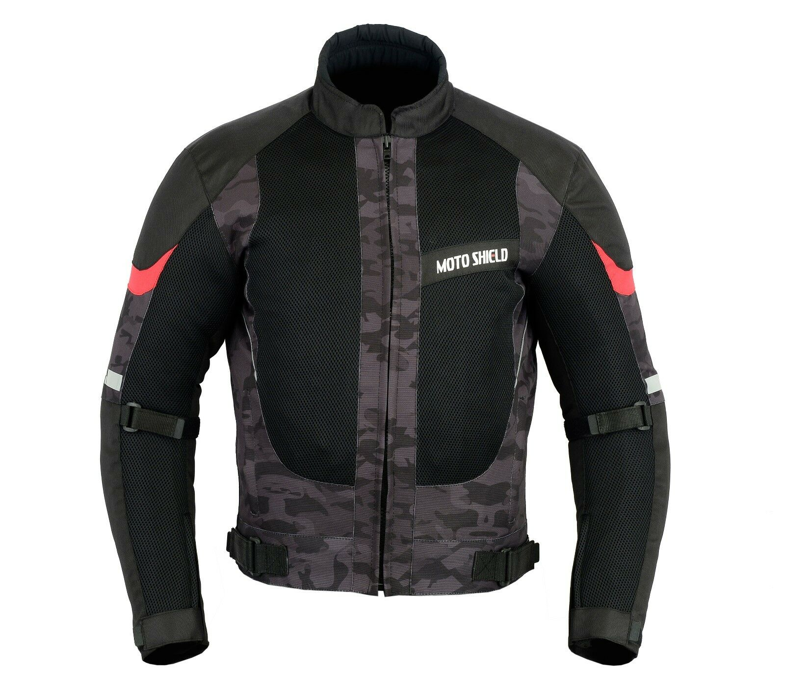 Motorcycle Motorbike Camouflage Men Waterproof CE Protect Cordura Textile Jacket