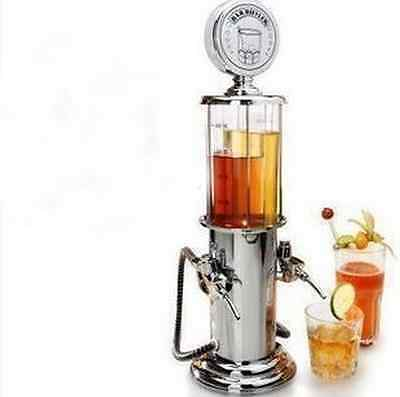 Wine Gas Station Cocktail Dispenser Drinks Bartending Beer Machine Double Pumps#