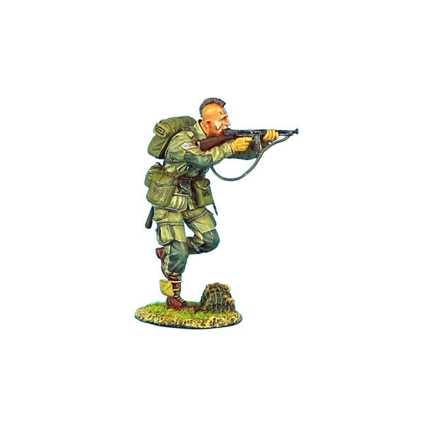First Legion NOR005 US 101st Airborne Paratrooper Running with Thompson SMG