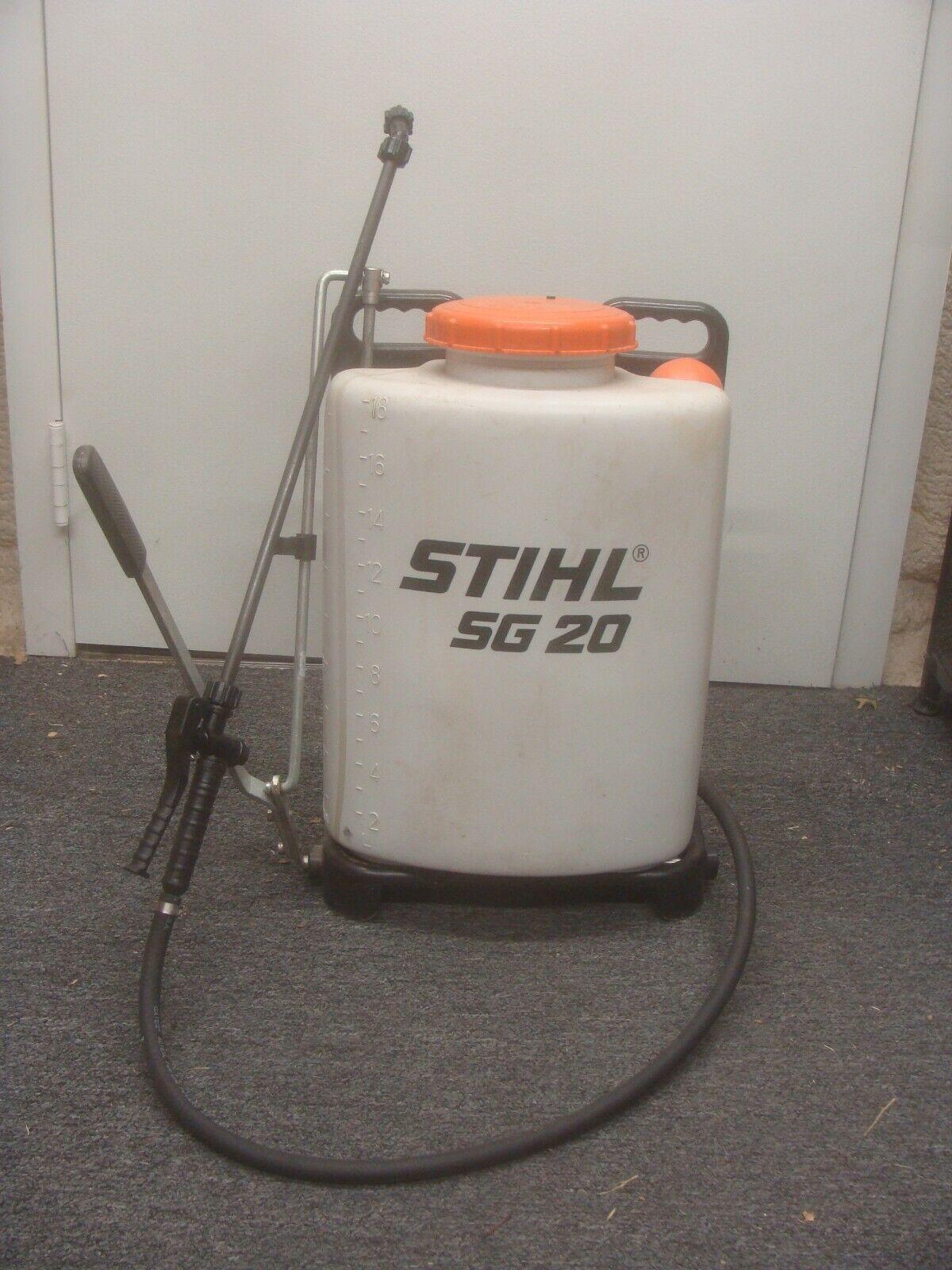 Stihl Sg20 Backpack Sprayer For Sale Online Ebay