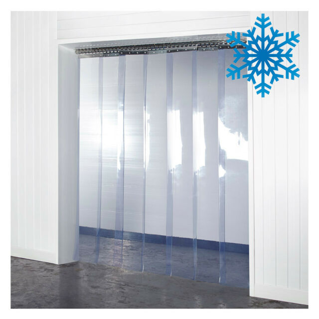 Pvc Plastic Strip Curtain For Walk In Coolers Warehouse Doors And