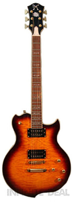 New Minarik Lotus Studio Xtreme Dark Cherry Tone Tail LP Style Electric Guitar
