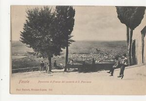 Fiesole-Panorama-di-Firenze-dal-Convento-di-S-Francesco-Italy-U-B-Postcard-259a