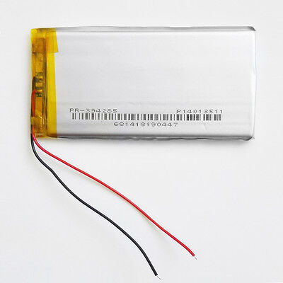 3.7V 1600mAh LiPo Li-Polymer Battery For Power Bank mobile phone DVD GPS 394285