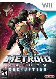 Metroid Prime 3 Corruption Nintendo Wii, 2007 TESTED - $12.99