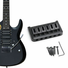 Electric Guitar Hardtail Bridge for Strat 2 1/16 - Black for