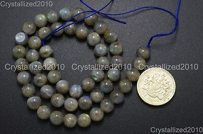 "Natural Labradorite Gemstone Round Loose Beads 2mm 3mm 4mm 6mm 8mm 10mm 12mm 16"""