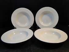 """FOUR Mikasa Italian Countryside Soup Bowls Salad 9 1/2"""" DD900 4 Bowls EXCELLENT!"""