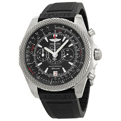 Breitling Bentley Supersports Ebony Dial Automatic Mens Watch E2736522-BC63BKRD