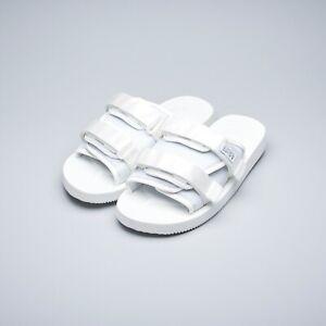 e9da888ae Suicoke SS19 OG-056Cab / MOTO-Cab White Nylon Antibacterial Sandals ...