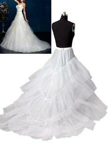 wei hochzeit brautkleid schleppe unterrock reifrock t llrock petticoat lager ebay. Black Bedroom Furniture Sets. Home Design Ideas