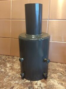 """Fits 4/"""" OD Pole Top 2.38/"""" OD External Tenon Reducer for Round Poles"""