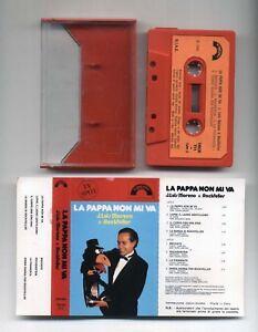 Mc-LA-PAPPA-NON-MI-VA-Luis-Moreno-amp-Rockfeller-1985-musicassetta-Sigle-Tv-Corvo