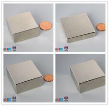 N52 Powerful1 12dia 2dia 38mm 508mm Rare Earth Neodymium Square Block Magnet