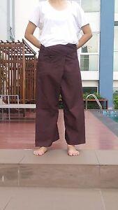 Free size. THAI Unisex YOGA Toray Fisherman Long Pants //Trousers
