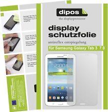 3x dipos Samsung Galaxy Tab 3 7.0 T210 o.T. matte Displayschutzfolie Antireflex