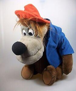 Brer-Bear-Baer-Pluesch-Figur-sitzend-ca-38-cm-Vintage-Disneyland-Walt-Disney-World