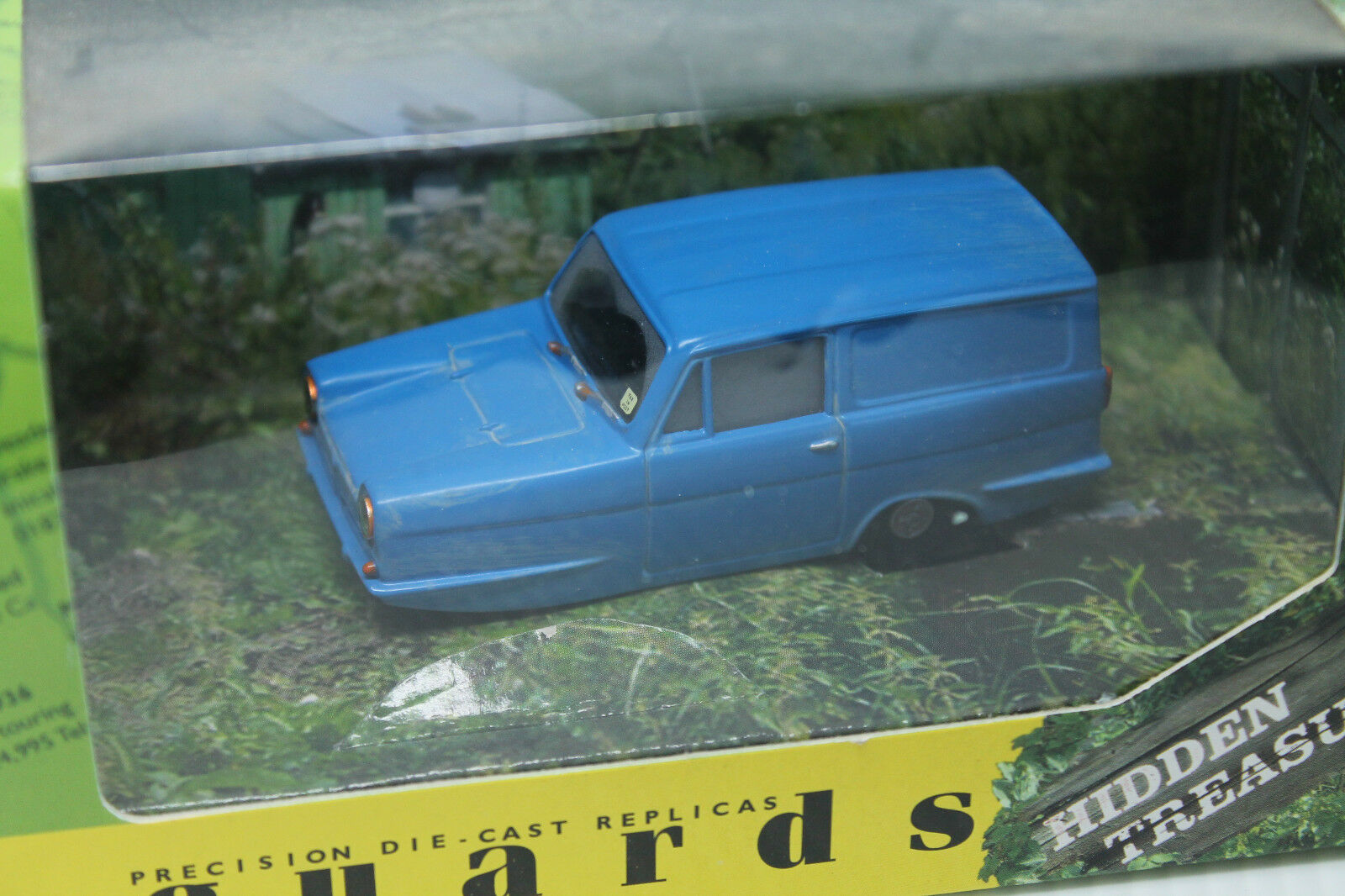 VANGUARDS ( CORGI )  RELIANT REGAL SUPER VAN  HIDDEN TREASURES  OVP  1 43  | Wunderbar