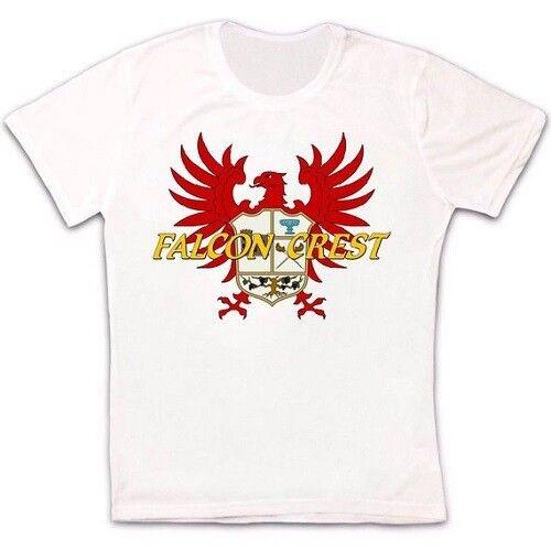 FALCON CREST 80 S série TV Logo Rétro Vintage Hipster Unisexe T Shirt 1112