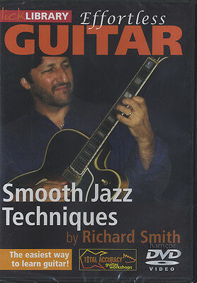 Effortless Guitar Smooth Jazz Techniques Lick Library Learn To Play Tutorial DVD