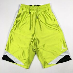 dfc2c8b5882 Image is loading Air-Jordan-Basketball-Shorts-Jumpman-Volt-Neon-Yellow-