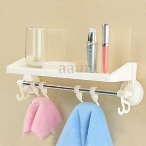 Bathroom Accessories With Suction Cups bathroom suction cup shelf rack storage shower toilet wall plastic