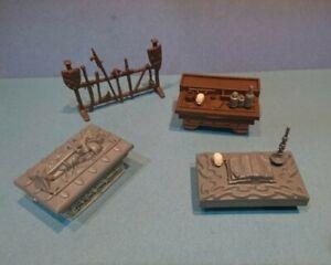 HEROQUEST meubles Lot Original items Hero Quest Board Game Spares MB Bundle