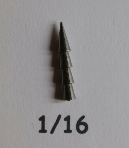 New Pagoda Tungsten Nail Weights Worm Weights 20 or 100 in a Pack