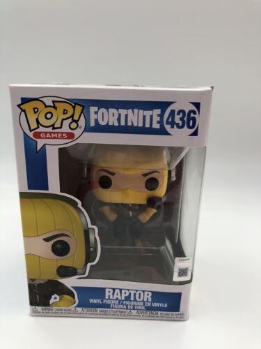 Funko Pop Fortnite #436 Raptor Battle Royal New in box