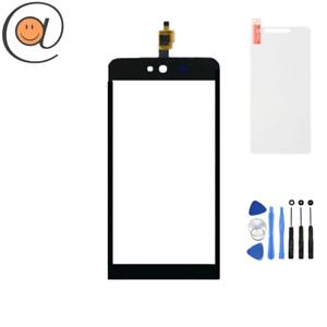 Ecran-Vitre-tactile-autocollant-Wiko-Rainbow-Jam-3G-Noir-Outils-Protection