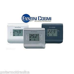 Termostato ambiente digitale ch110 ch111 ch112 fantini for Termostato fantini cosmi ch110 istruzioni