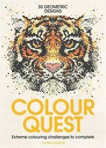Colour-Quest-Colouring-Books-by-Webster-Joanna-NEW-Book-FREE-amp-Fast-Deliver