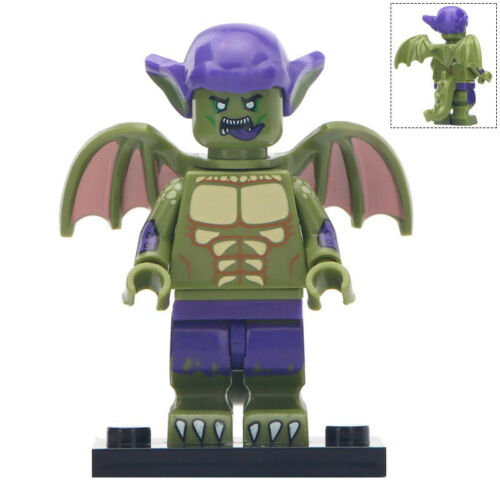 Miles Morales Minifigure Spider-Ham Prowler Gwen Figure Custom Lego Minifigures