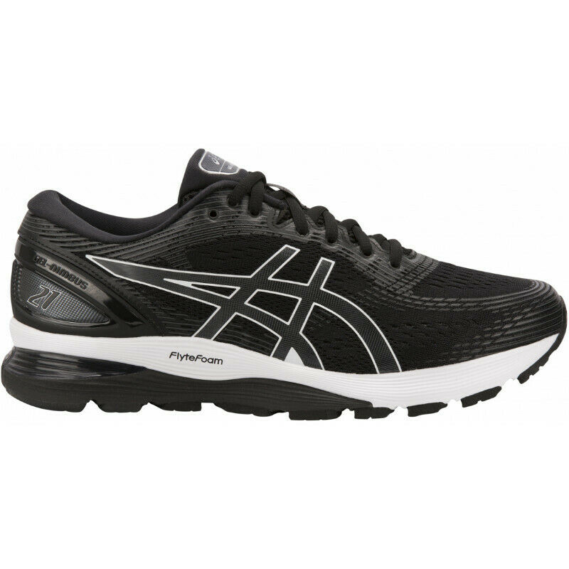Mens Asics Gel Nimbus 21 Mens Running shoes - Black