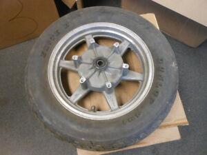 Honda Enki 3.5x16 Rear Wheel Rim w/ Dunlop 491 Elite II 160/80-16 42650-MN5-305