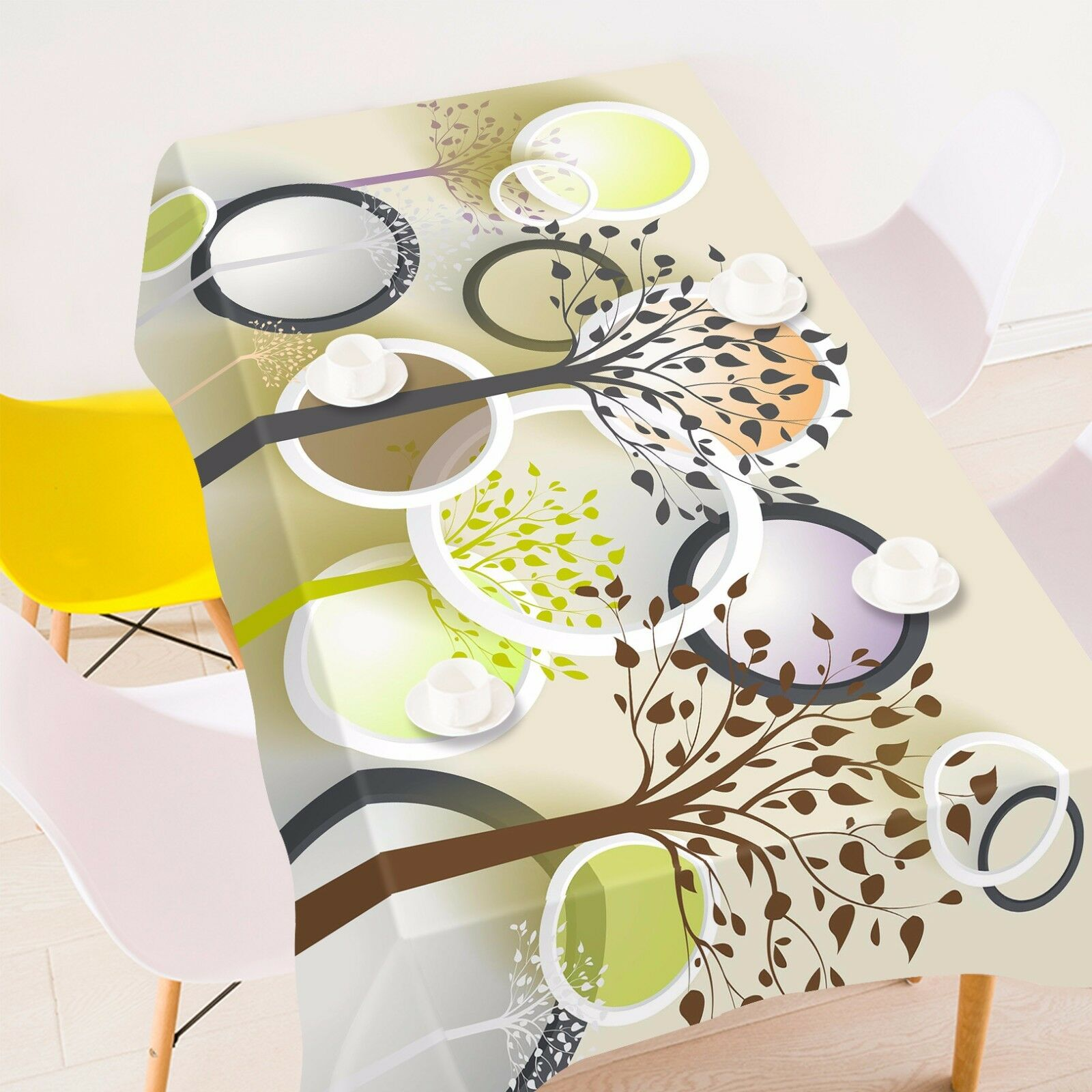 3D Ring tree95 Tablecloth Table Table Table Cover Cloth Birthday Party Event AJ WALLPAPER UK 76c04b